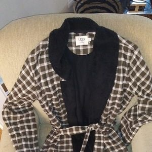 Ugg for Men Plaid Robe
